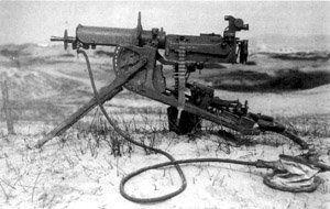 mitrailleuse allemande