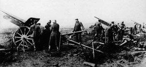 canons allemands à Cambrai