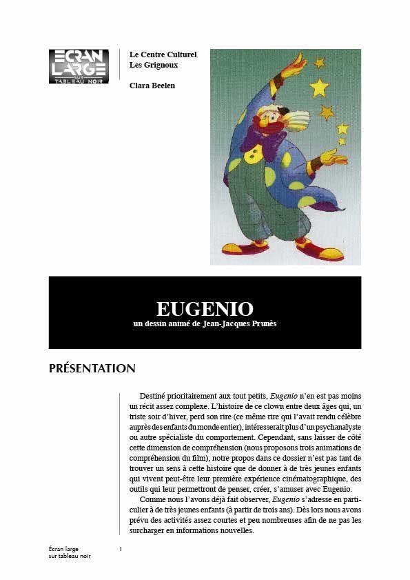 affiche du dossier Eugénio