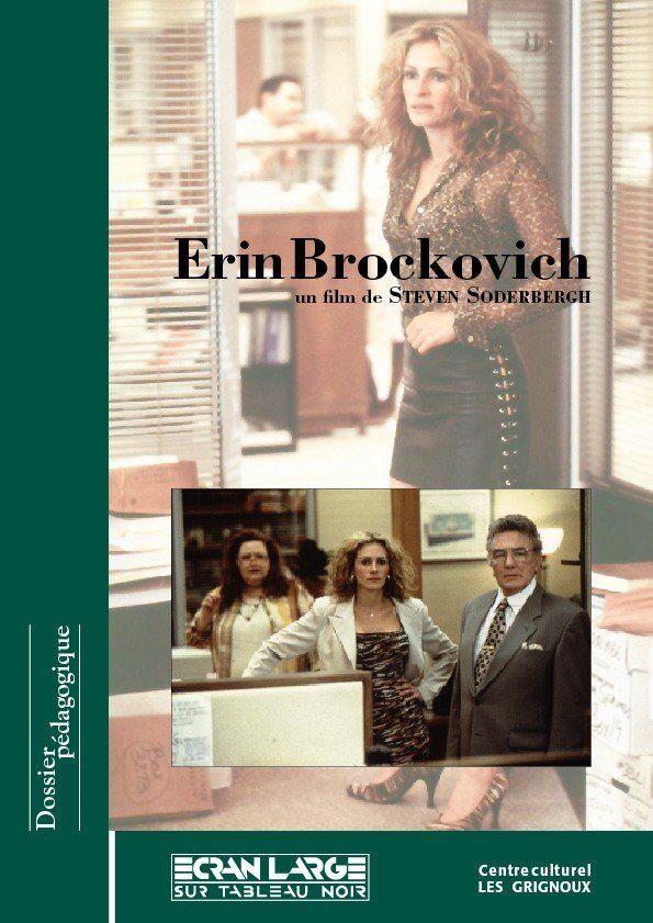 affiche du dossier Erin Brockovich