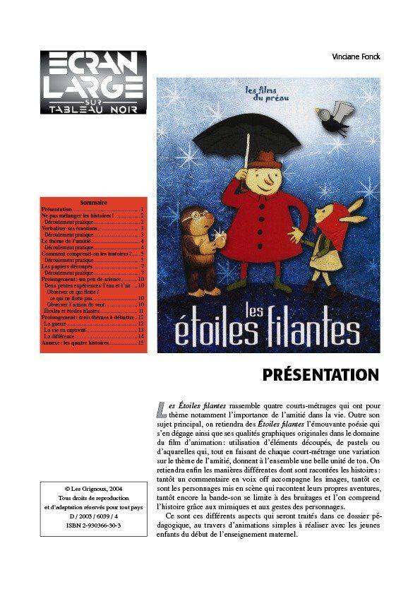 affiche du dossier Les Étoiles filantes