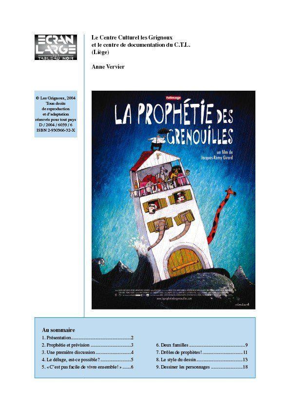 affiche du dossier La Prophétie des grenouilles