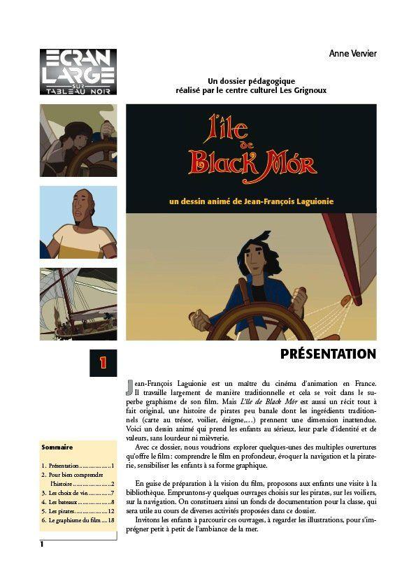 affiche du dossier L'Île de Black Mór