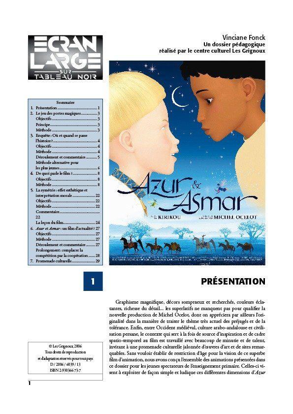 affiche du dossier Azur et Asmar