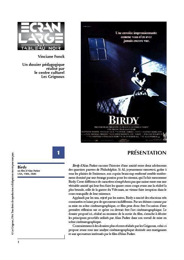 affiche du dossier Birdy