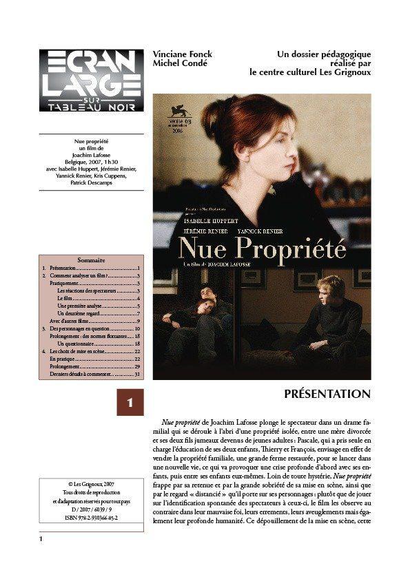 affiche du dossier Nue propriété
