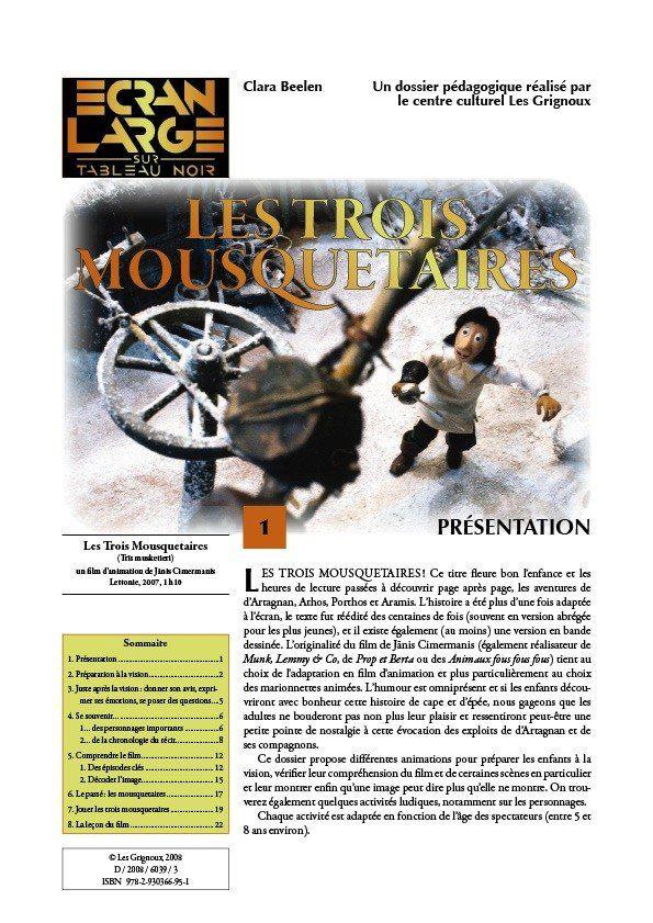 affiche du dossier Les Trois Mousquetaires