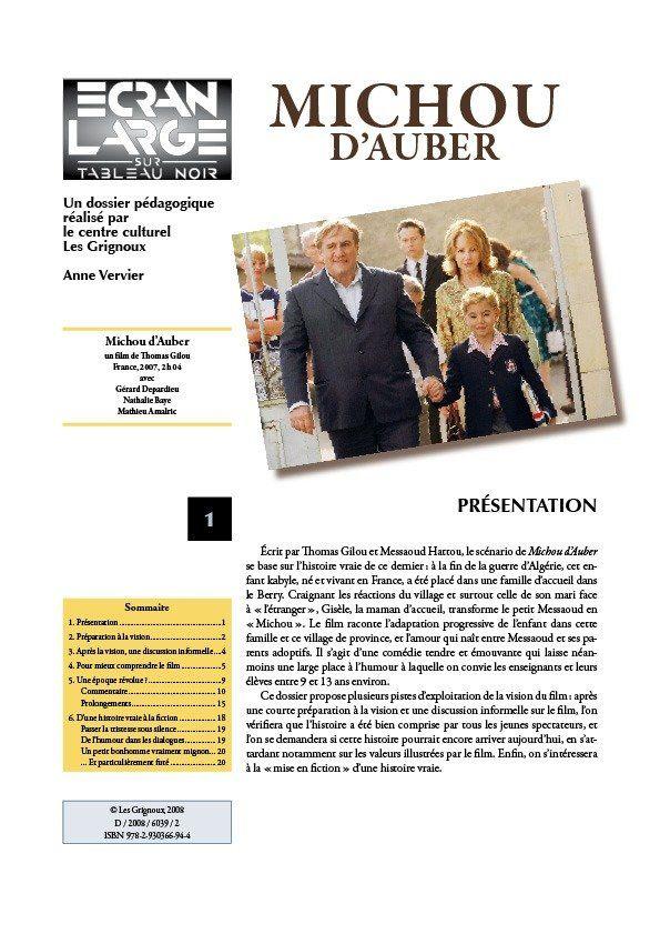 affiche du dossier Michou d'Auber