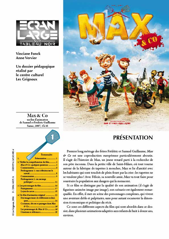 affiche du dossier Max & Co