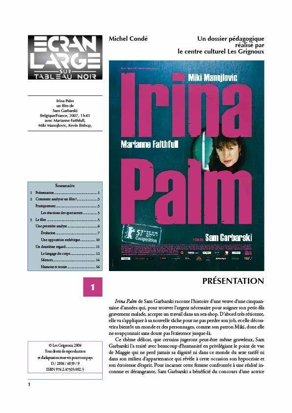 affiche du dossier Irina Palm