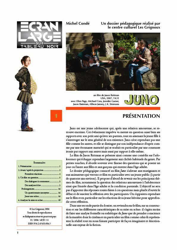 affiche du dossier Juno