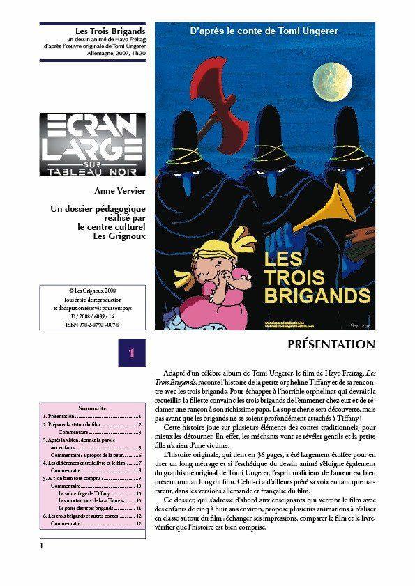 affiche du dossier Les Trois Brigands