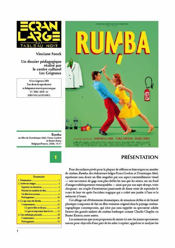 affiche du dossier Rumba