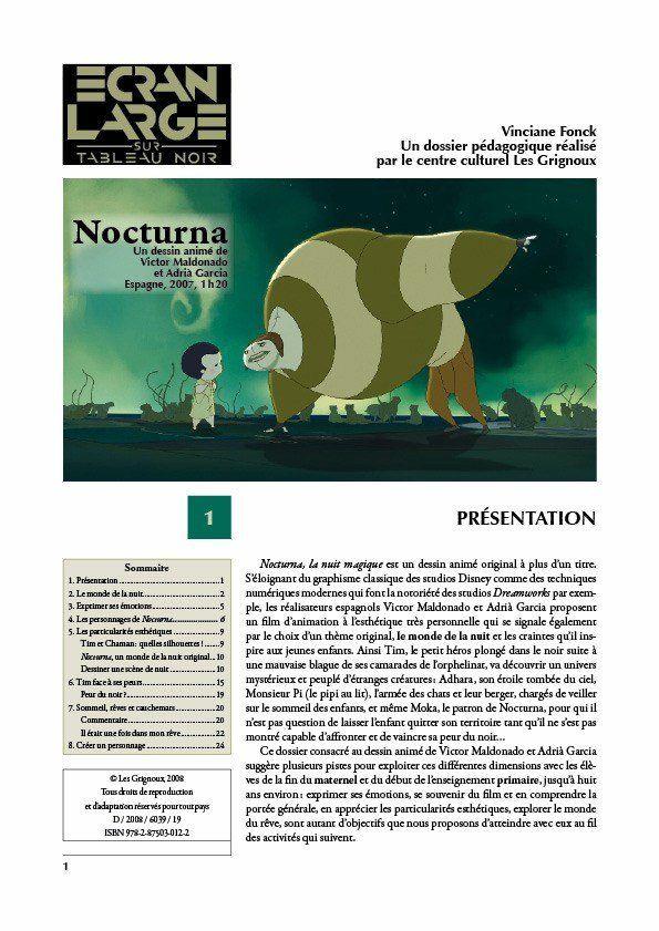 affiche du dossier Nocturna