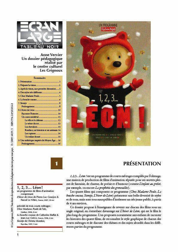 affiche du dossier 1, 2 , 3 Léon !