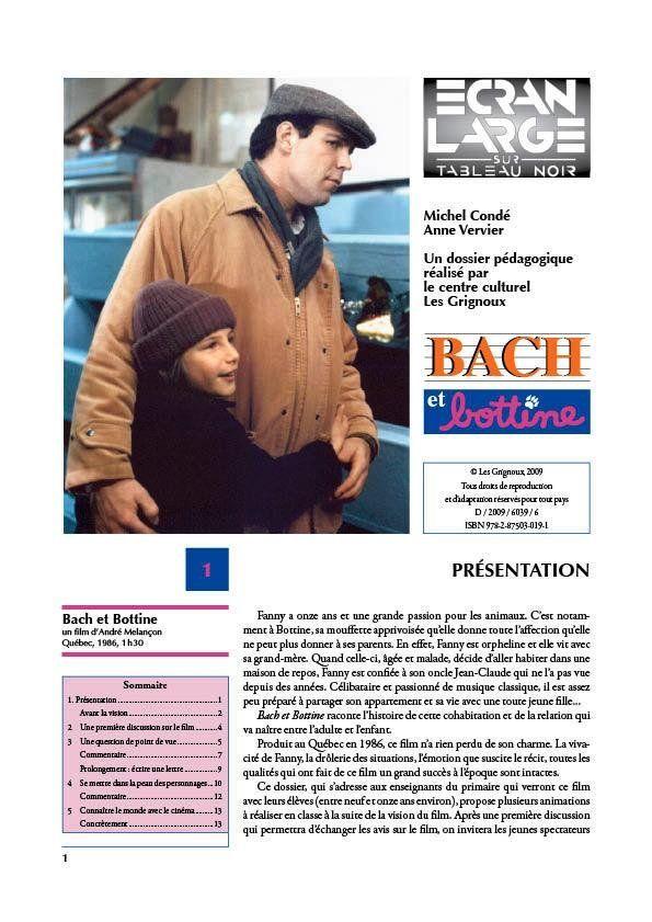 affiche du dossier Bach et Bottine