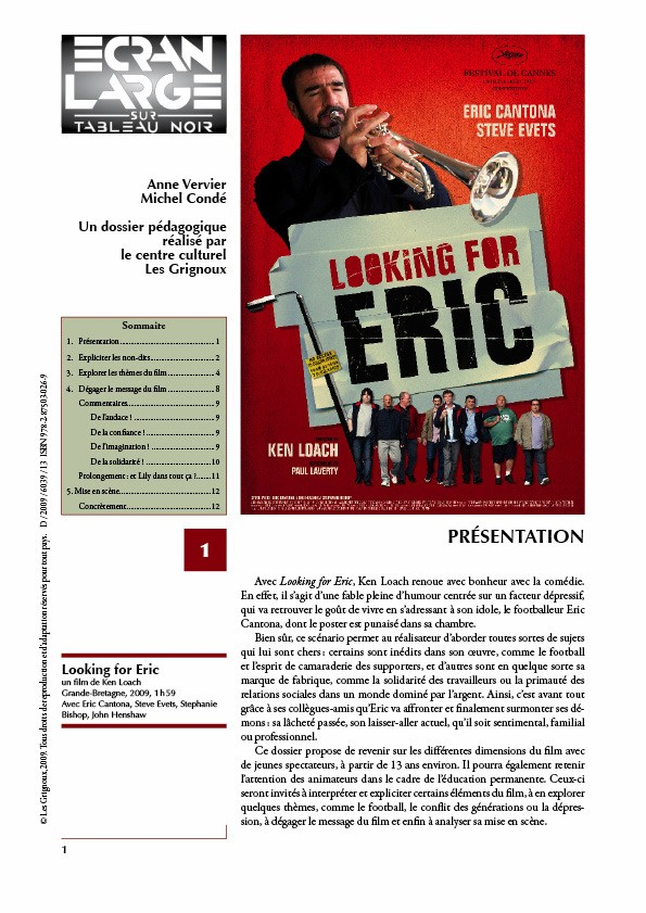 affiche du dossier Looking for Eric