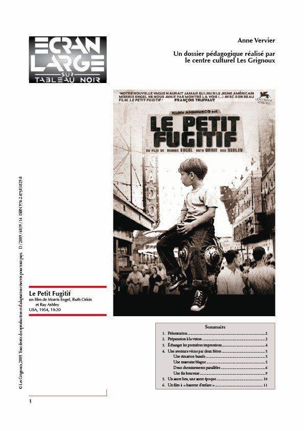 affiche du dossier Le Petit Fugitif