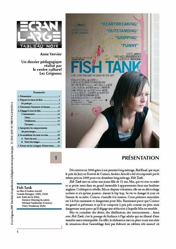 affiche du dossier Fish Tank