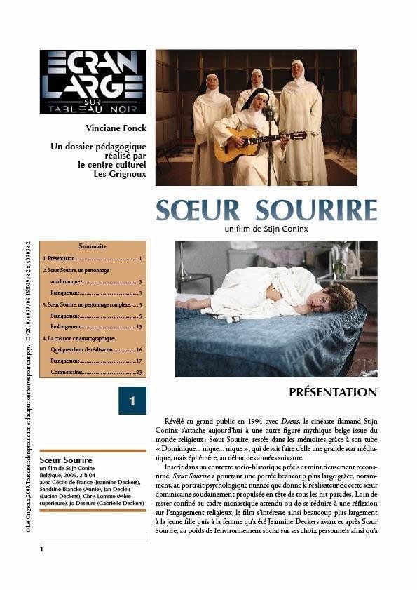 affiche du dossier Sœur Sourire