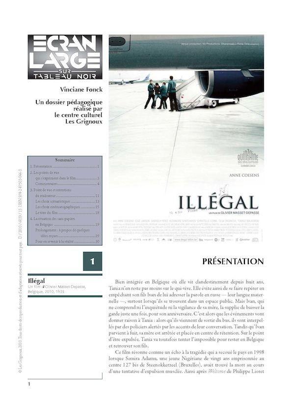 affiche du dossier Illégal