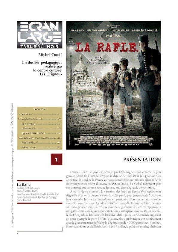 affiche du dossier La Rafle