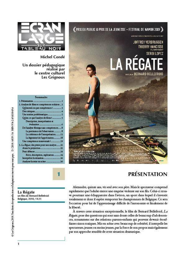affiche du dossier La Régate