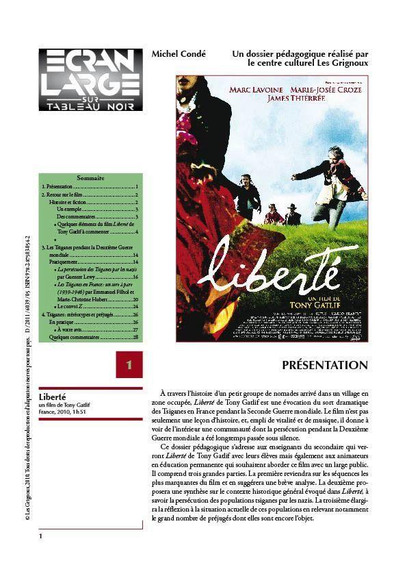 affiche du dossier Liberté