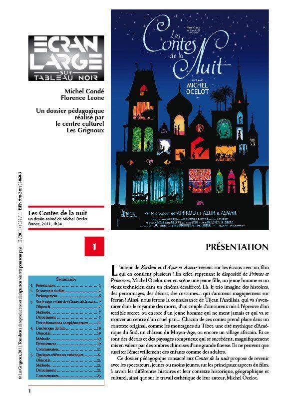 affiche du dossier Les Contes de la nuit