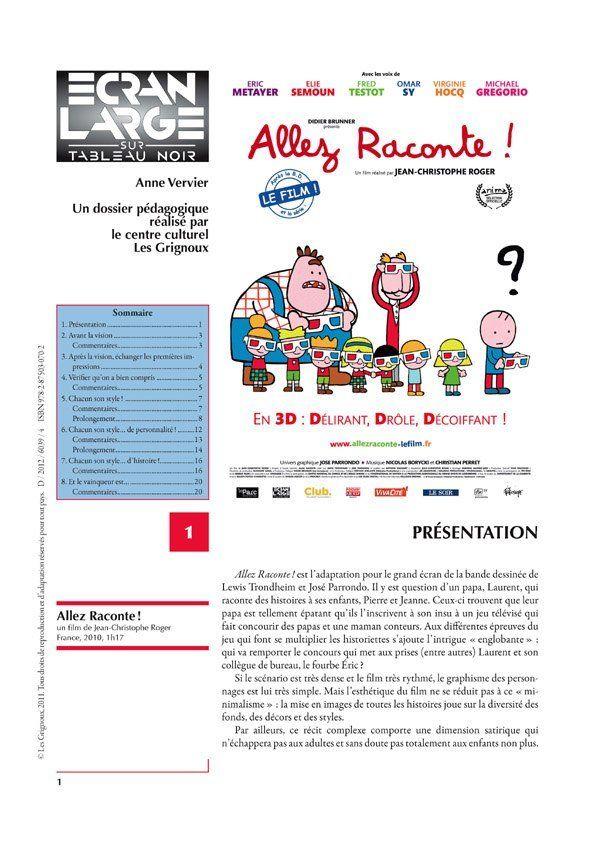 affiche du dossier Allez Raconte!