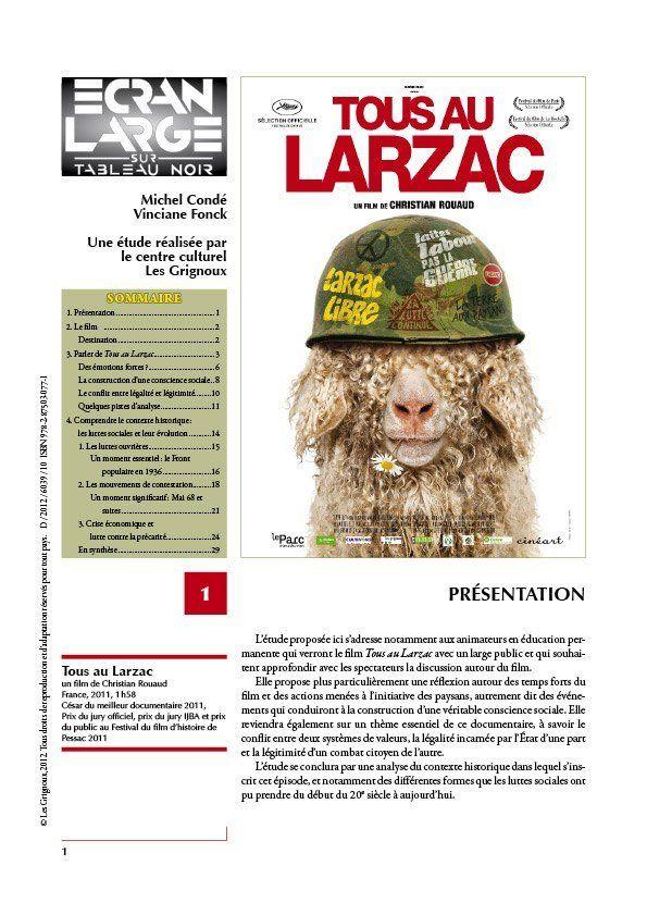 affiche du dossier Tous au Larzac