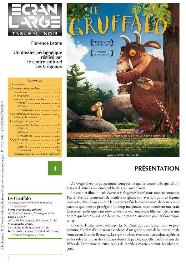 affiche du dossier Le Gruffalo