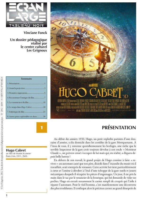 affiche du dossier Hugo Cabret