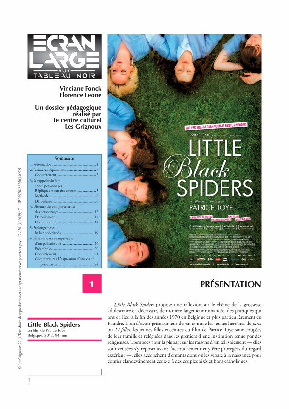 affiche du dossier Little Black Spiders