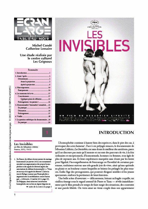affiche du dossier Les Invisibles