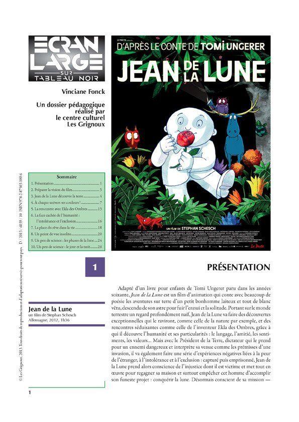 affiche du dossier Jean de la lune