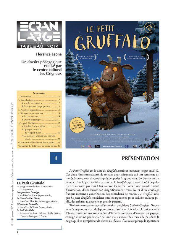 affiche du dossier Le Petit Gruffalo