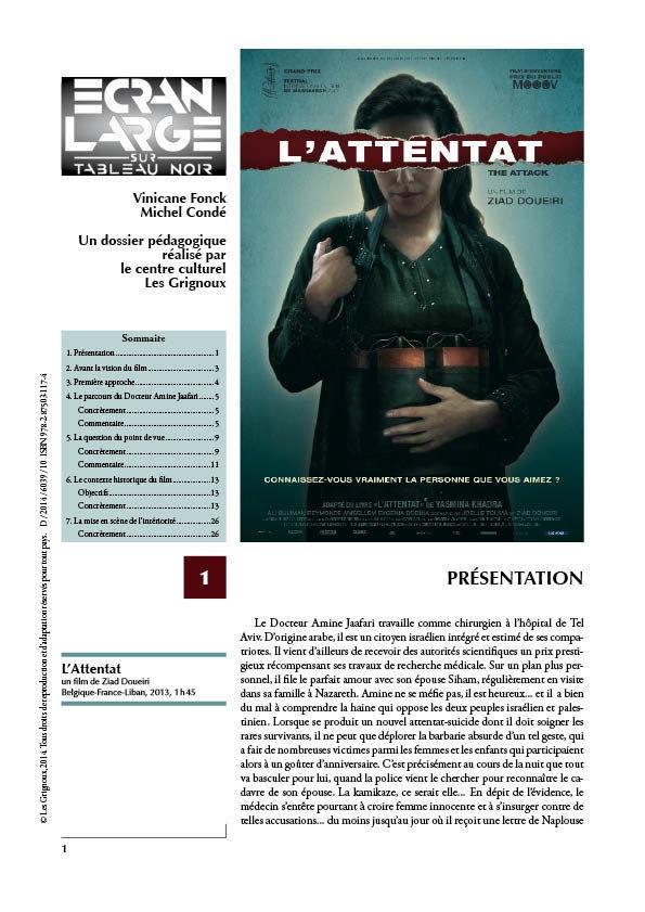 affiche du dossier L'Attentat