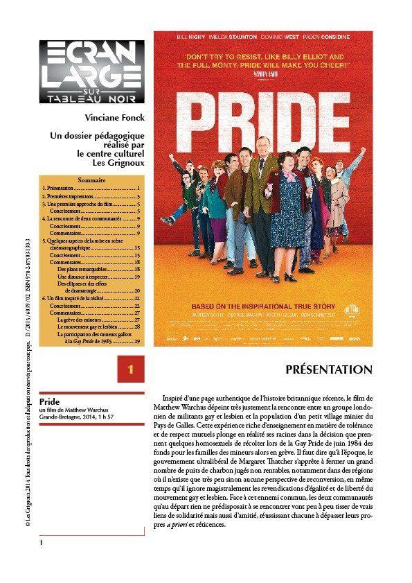 affiche du dossier Pride