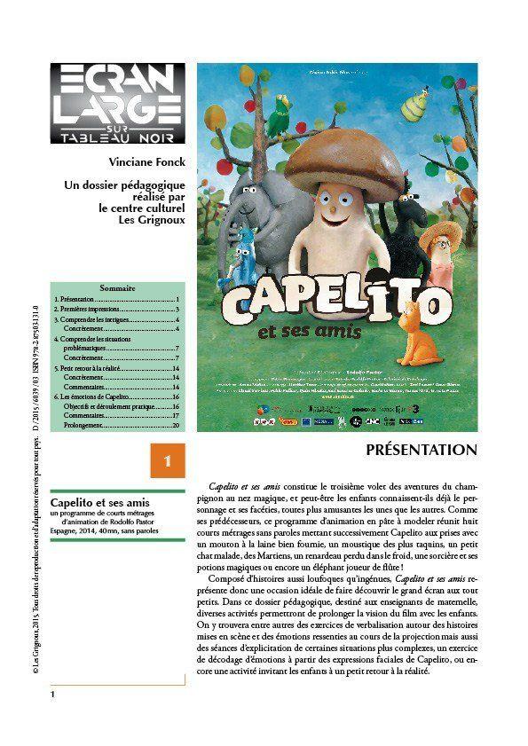 affiche du dossier Capelito et ses amis