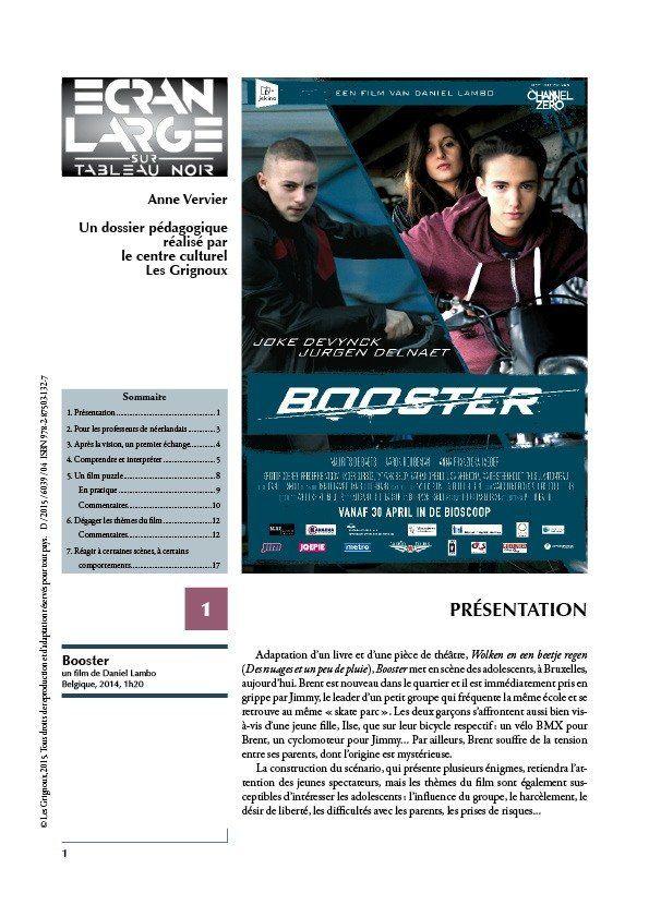 affiche du dossier Booster