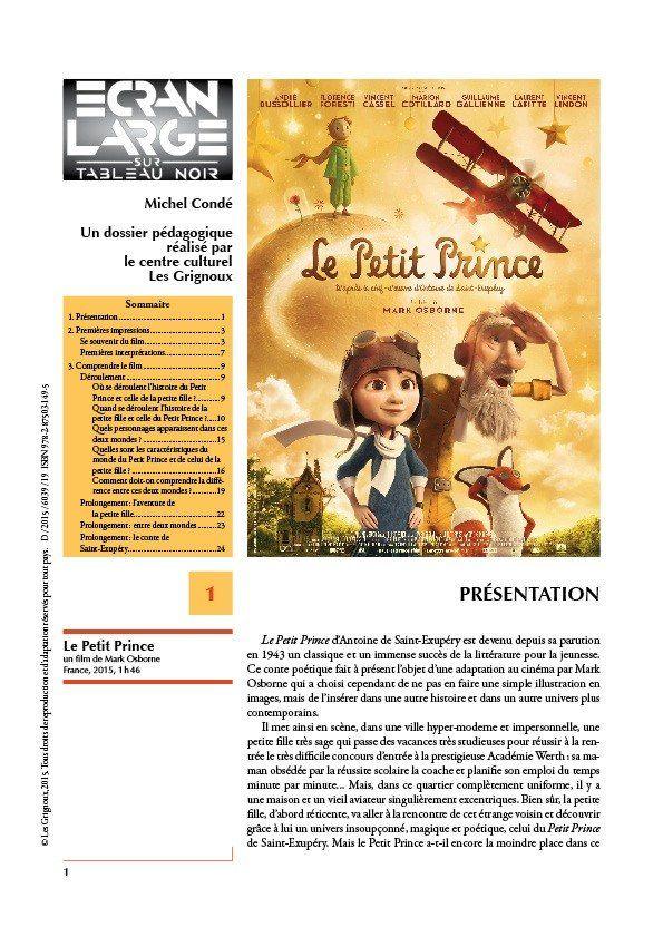 affiche du dossier Le Petit Prince
