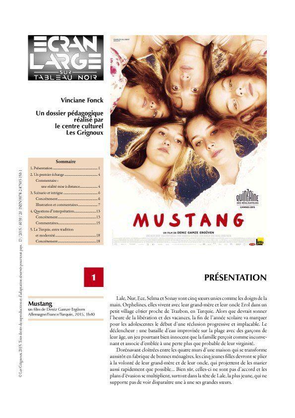affiche du dossier Mustang