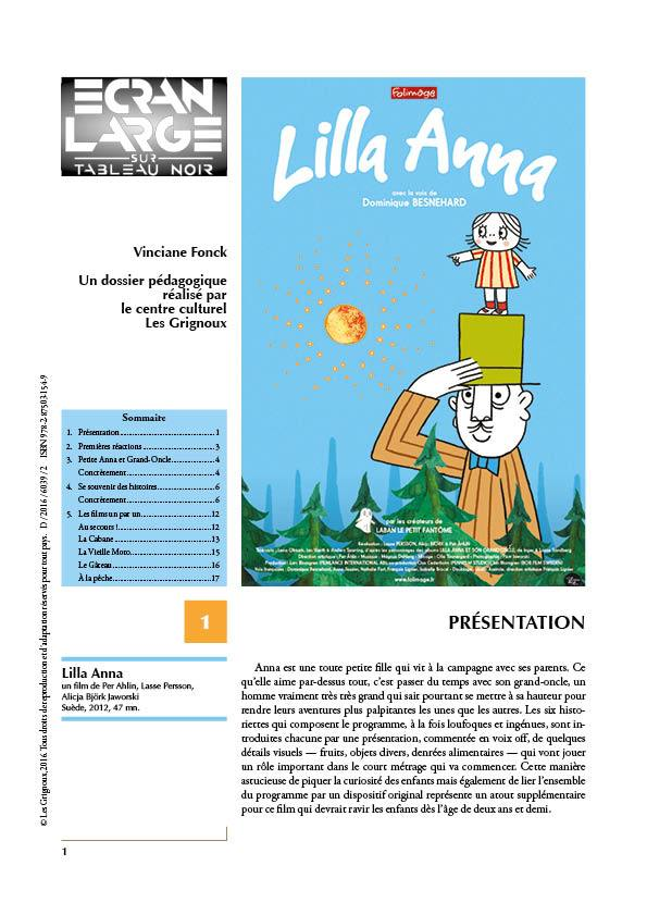 affiche du dossier Lilla Anna