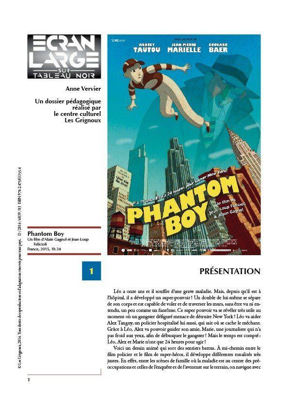 affiche du dossier Phantom Boy