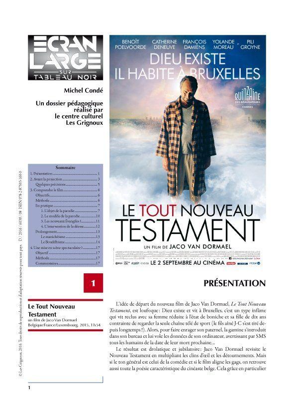 affiche du dossier Le Tout Nouveau Testament