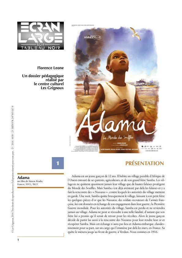 affiche du dossier Adama