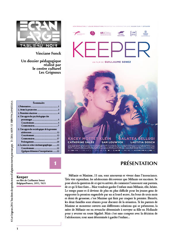 affiche du dossier Keeper
