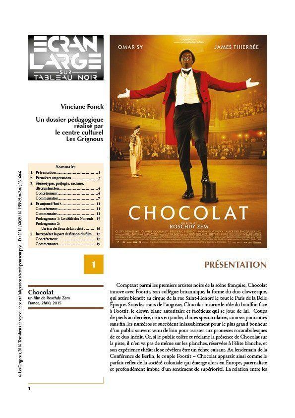 affiche du dossier Chocolat