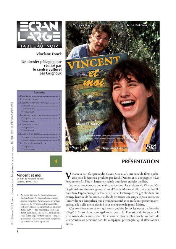 affiche du dossier Vincent et moi